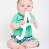 Baby Going to Chew Letter A