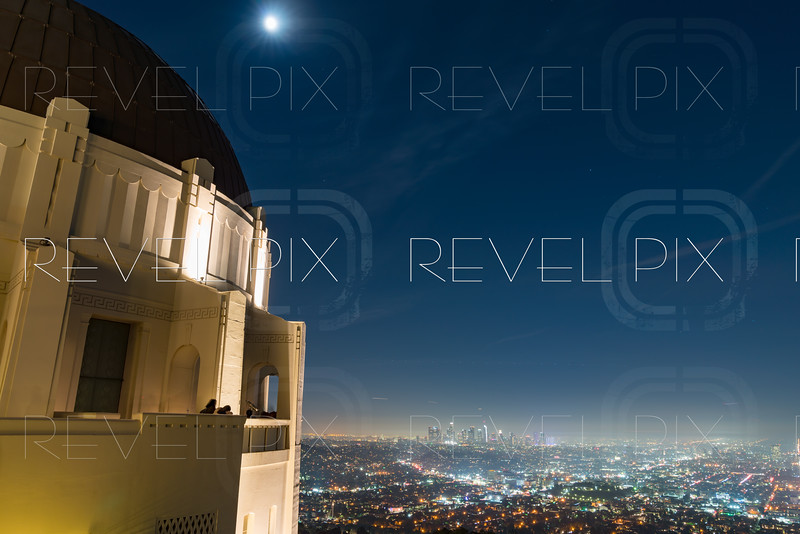 Los Angeles City from Griffith Observatory Night