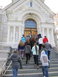 Stockbridge/Divine Mercy Shrine Trip Gr 7 & 8