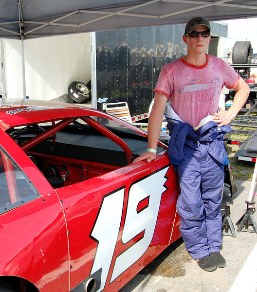 Late Model Sportsman Driver: Chad Pressley Car #19  note: interview pending