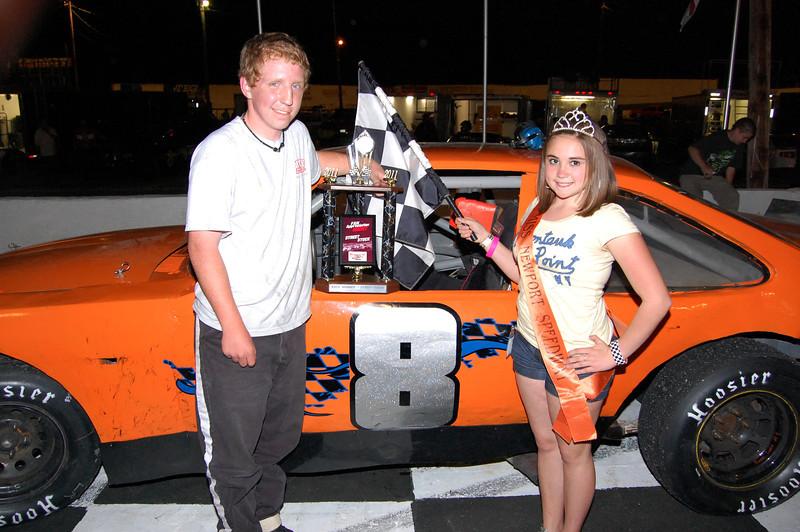 Street Stock  Wesley Mull  Car# 8  Hometown: Waynesville, NC  Sponsor: Seeking  First Race: 2010 Newport First Win: 2011 Newport