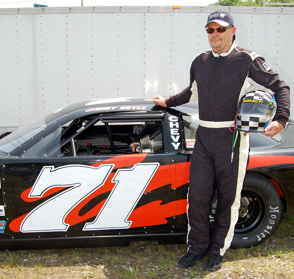 Super Late Model Division Driver:Jimmy Doyle Car #71 Hometown:Hendersonville NC Sponsors:General Auto Repair & Tire First Race:1985 Go-Karts Hialeah Florida Speedway First Win :1990 SLM