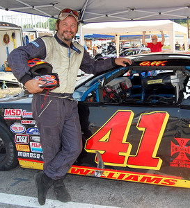 Late Model Sportsman								 Driver:	Darrell Williams							 Car #	41							 Hometown:	Canton, NC							 Sponsors:	Asphalt Unlimited, T&D Trucking, J .W. Used Car & Tires, Asplundh Tree Co.							 First Race:	1993-Smokey Mountain Raceway,  Cherokee, NC		 Raceway Cherokee, NC	 Cherokee, NC				 First Win :	1999 Asheville Motor Speedway