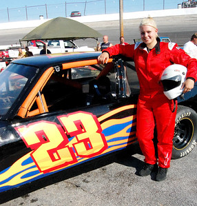 Street Stock								 Driver:	Emily Tracy							 Car #	23							 Hometown:	Newport TN							 Sponsors:	JBL Communications, John Clark Construction							 First Race:	2004-Newport TN. Front Wheel Drive Division							 First Win :	2005- Newport TN