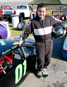 Mini Cup								 Driver:	Austin Loyd							 Car #	o1							 Hometown:	Newport Tn							 Sponsors:	Day Motor Sports, Double E Lawn Service							 First Race:	2010-Newport TN							 First Win :	N/A
