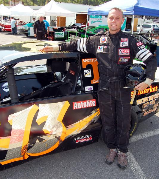 Mod 4 Driver:Scottie Frazier Car #13 Hometown:Newport, Tn Sponsors:Frazier racing First Race:2003-Newport, Mod 4 First Win :2001- Newport, TN