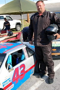 Mini Cup								 Driver:	Charlie Elmore 							 Car #	43							 Hometown:	Morristown, TN							 Sponsors:	Double E Lawn Service							 First Race:	Apr-11							 First Win :	N/A Note: new driver, Jarrod Wright to be interviewed asap.