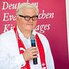 Frank-Walter Steinmeier auf dem Kirchentag