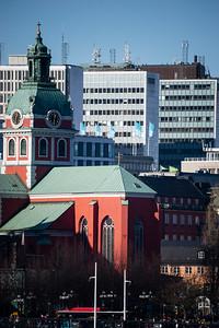 Stockholm city walk March 2015