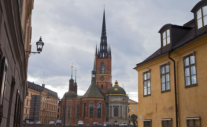 Riddarholmen church, inaugurate year 1300.
