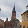 Riddarholmen church, inaugurate year 1300.