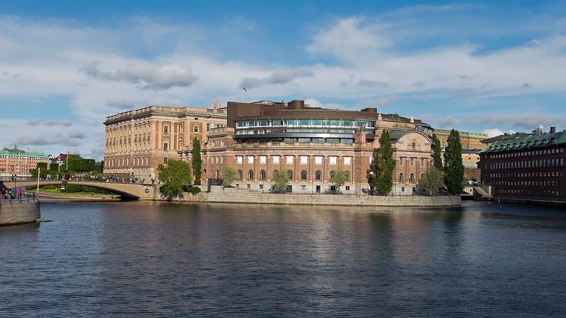 Riksdagshuset (the Swedish parliament)