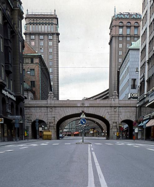 Kungsgatan and Kungstornen, Stockholm