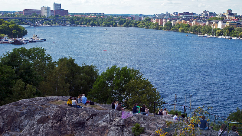 Skinnarviksberget, Riddarfjärden Södermalm Stockholm, Sweden