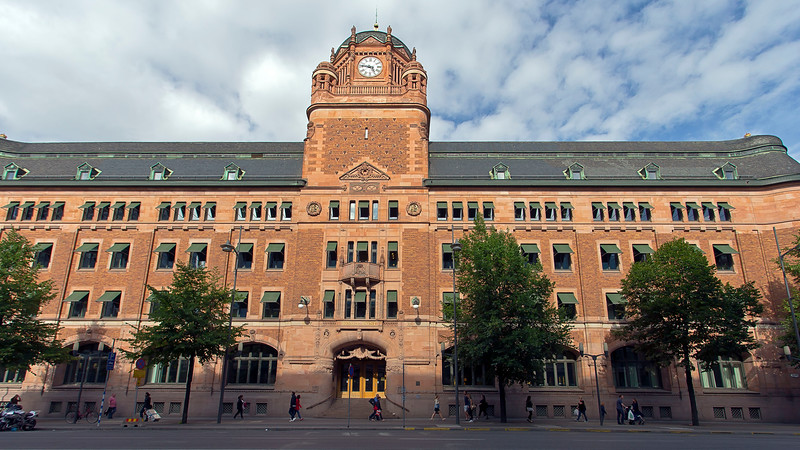 The old Royal post office ready 1903<br /> Architecture Ferdinand Boberg