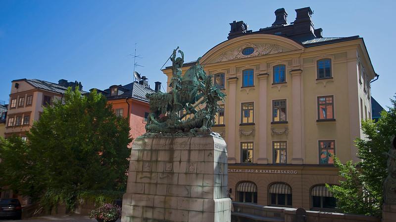 Statue S:t Göran