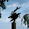 Man and Pegasus made by Carl Milles