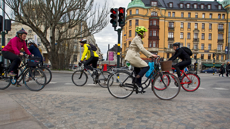 Helmet when cycling Stockholm Stockholm
