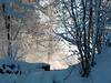 Winterlandscape in Stockholm