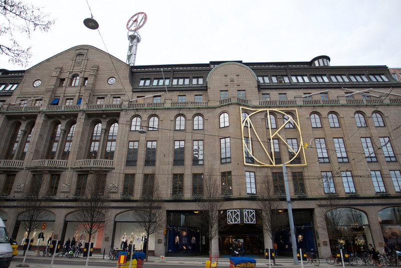 Department store house NK since 1915 Stockholm