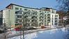 Apartment house Hammarbu sjöstad Stockholm