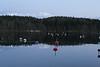 Time 8.51 PM Stockholm archipelago