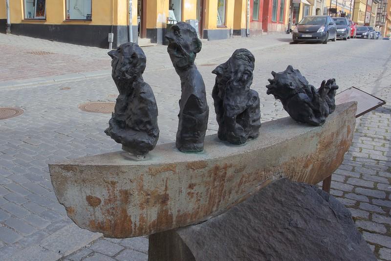Modern art, Hornsgatan, Södermalm