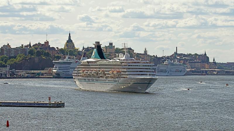 Cruisingship in Stockholm harbour