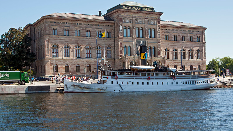 Nationalmuseum opened 1866 Stockholm