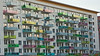 Apartment house Liljeholmen Stockholm