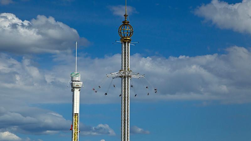 Amusement park Gröna Lund, founded 1883 Stockholm