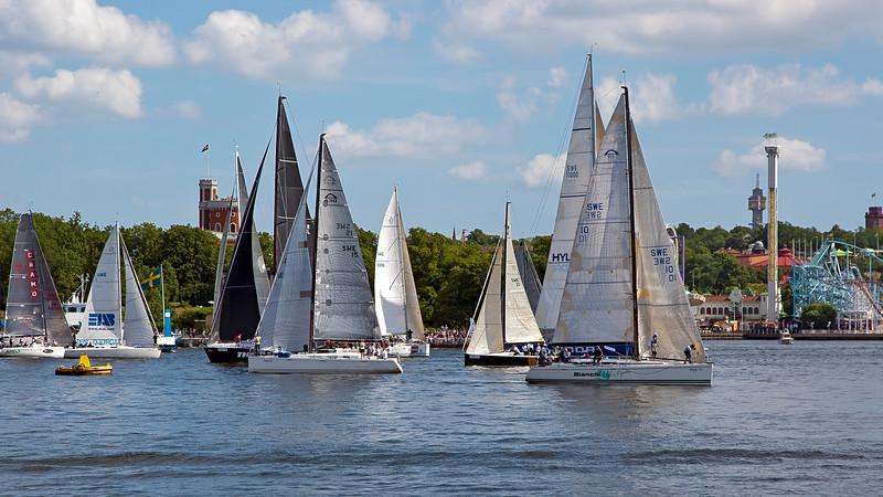 Sailing race Stockholm