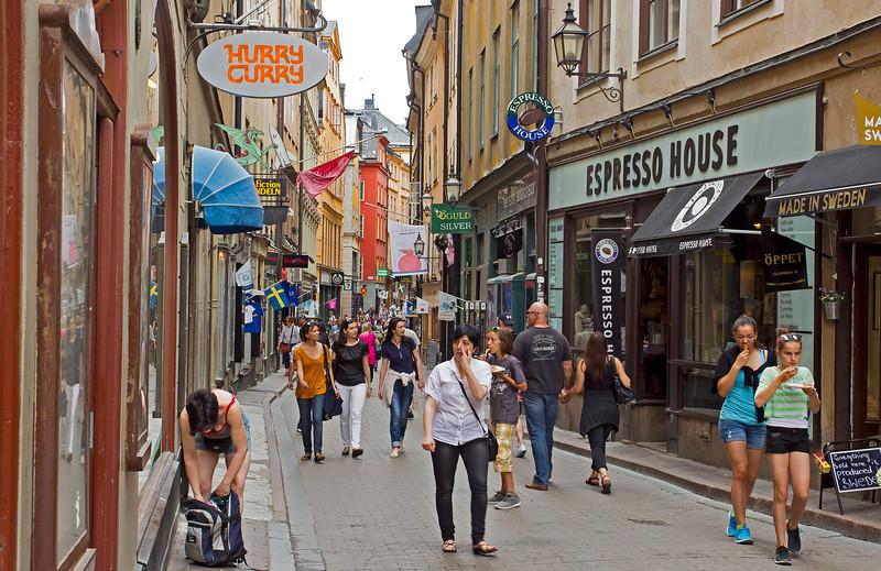 Västerlånggatan, Old town Stockholm