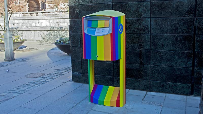 Post box Stockholm