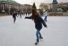 Skating in Kungsträdgården Stockholm