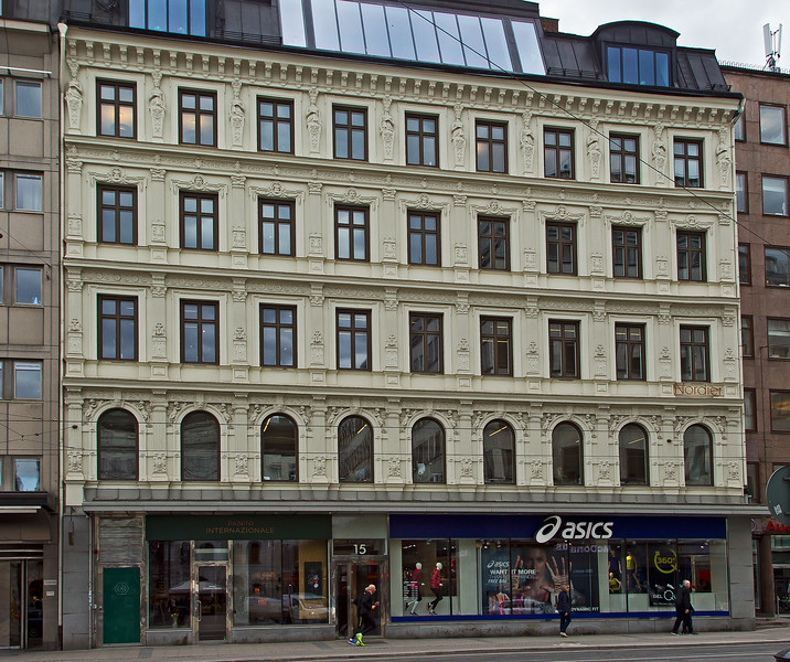 MEA-house since 1881, Norrmalms torg Stockholm