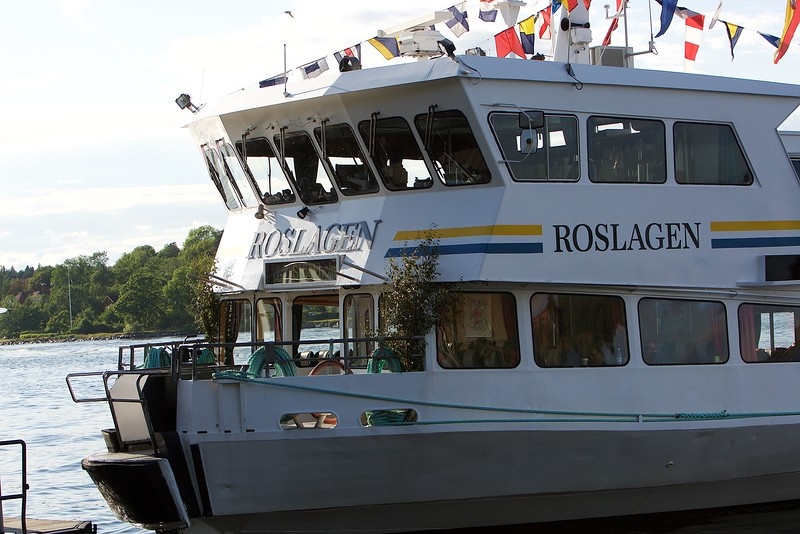 Ship in archipelago, Stockholm