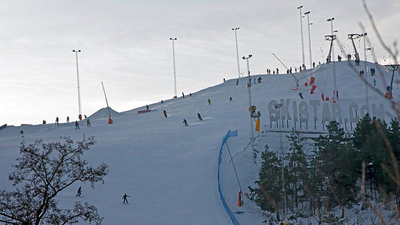 Down Hill slope Hammarbybacken Stockholm