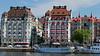 Strandvägen, Stockholm Hotel Esplanad and Hotel Diplomat. Built 1907 -1911