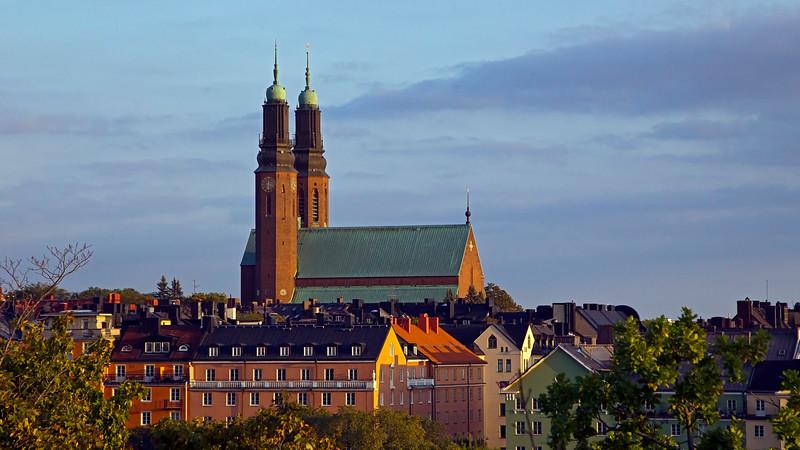 Högalidskyrkan, built 1916 - 1923