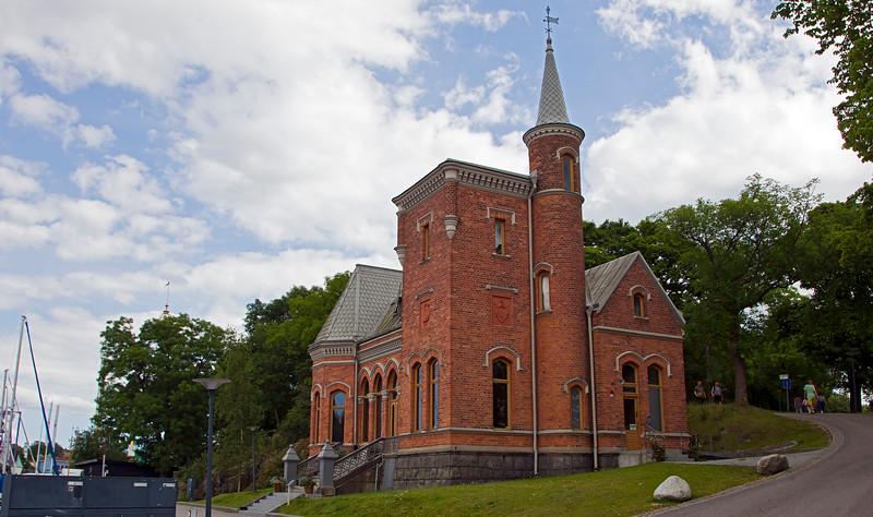 Skridskopaviljongen Kastellholmen  Stockholm, built 1882.