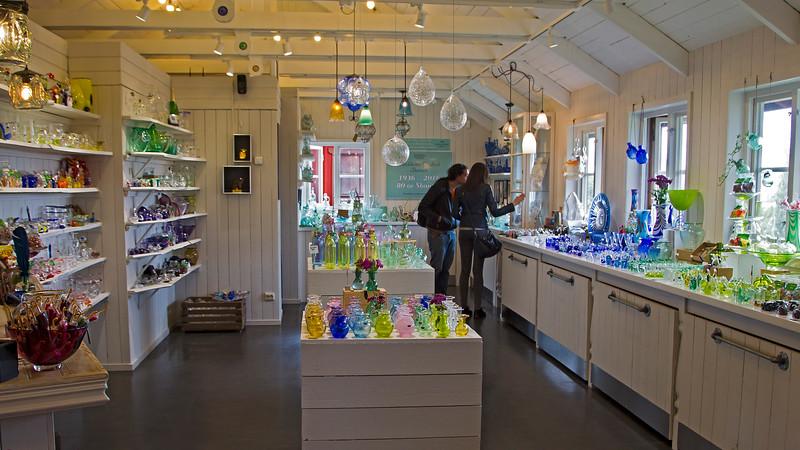 Glassworks in Skansen Stockholm