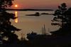 Sunrise 04.10  Långvik, Möja, Stockholm archipelago