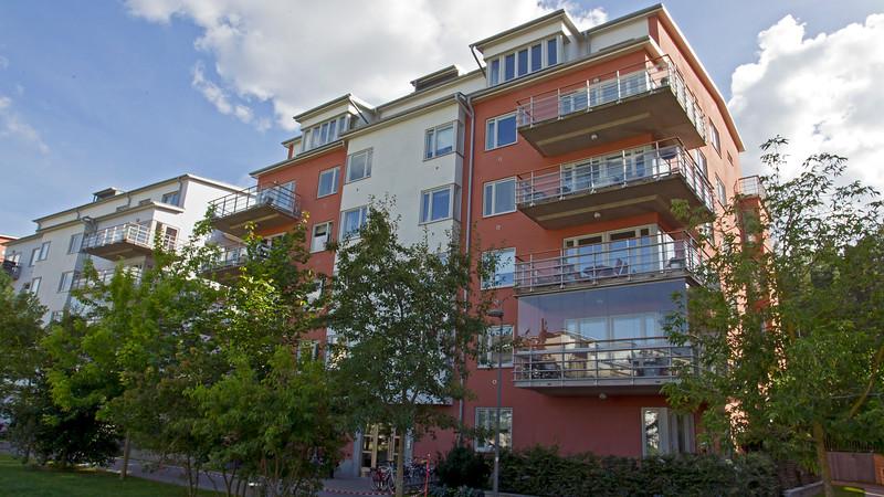 Apartment house Finnboda Stockholm