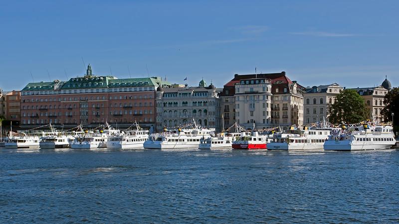 Midsummer celebration ship to archipelago, Stockholm