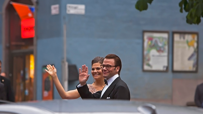 Victoria, Crown Princess of Sweden and Prince Daniel