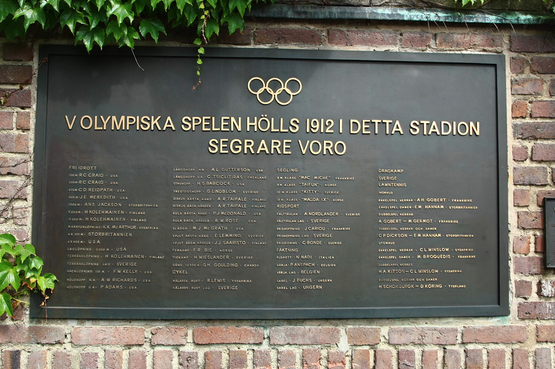 The vinner in 1912 Olympic Games, Stockholm