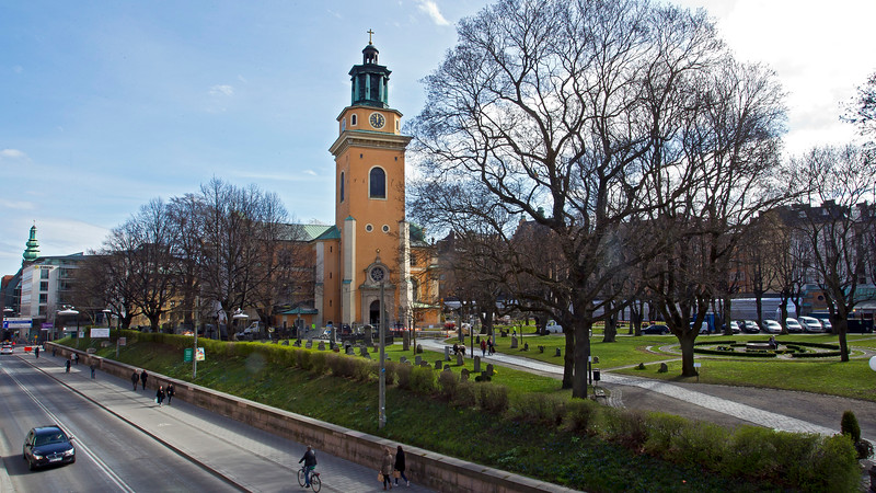 S:a Maria Magdalena church Södermalm Stockholm