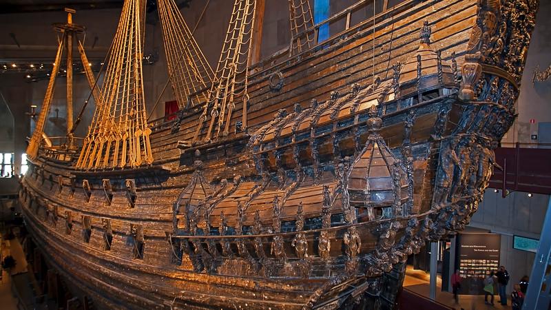 Warship Wasa 1626 - 1628 museum, Djurgården Stockholm