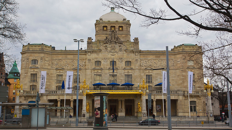 Royal Dramatic Theatre in inaugurate 18 Feb  1908, Stockholm